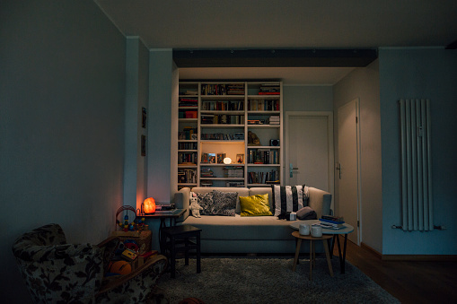 Couch in cozy living room - gettyimageskorea