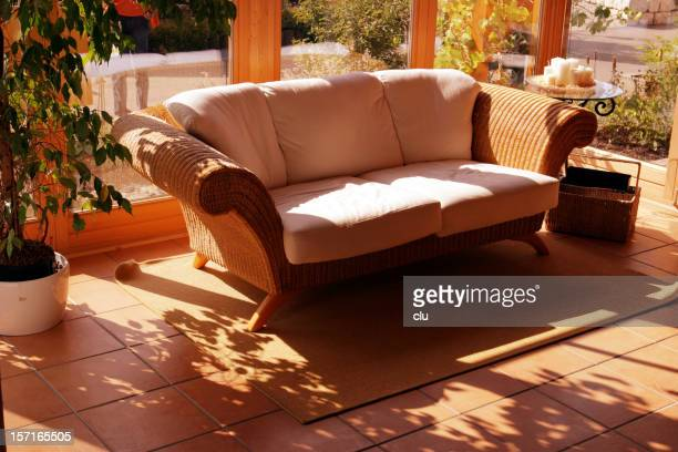 Couch in the sun