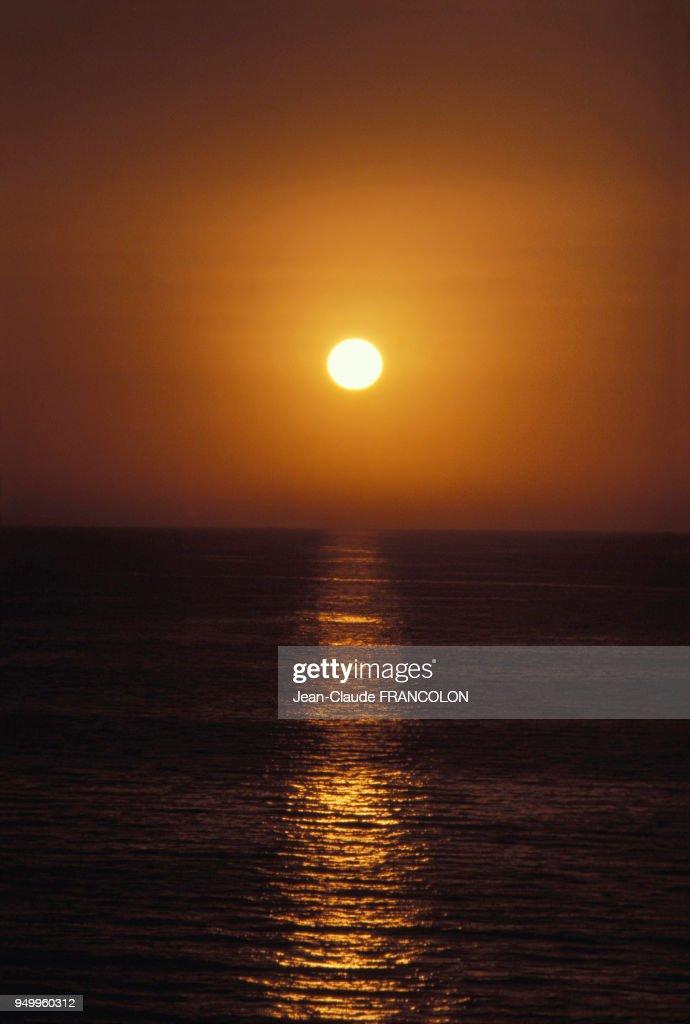 Coucher De Soleil Sur La Mer News Photo Getty Images