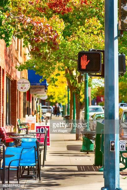 Couer d'Alene Idaho Sidewalk