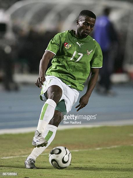 Cougbadja Mohamed Ab Kader of Togo during The African Cup of Nations Group B match between Angola and Togo at The Cairo International Stadium on...