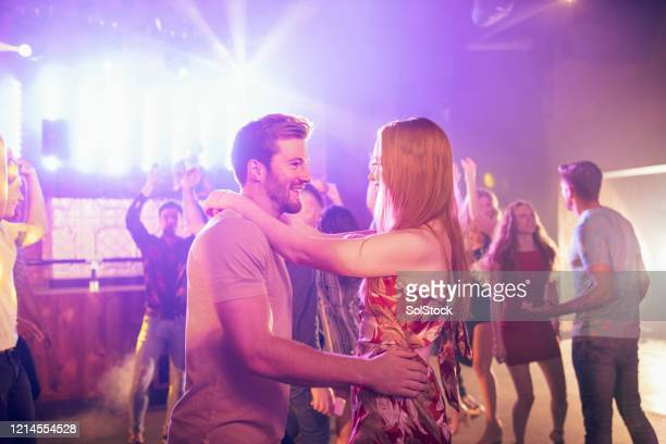 i could dance with you forever - disco dancing stock pictures, royalty-free photos & images