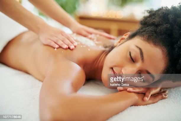 je pourrais le faire toute la journée - massage room photos et images de collection