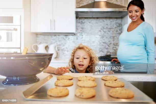 Könnte dies ein ganzes Tablett mit Cookies für mich?