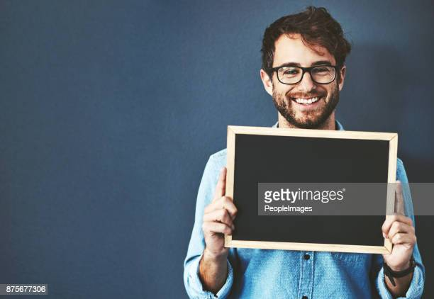 i couldn't agree more with this message - blank chalkboard stock photos and pictures