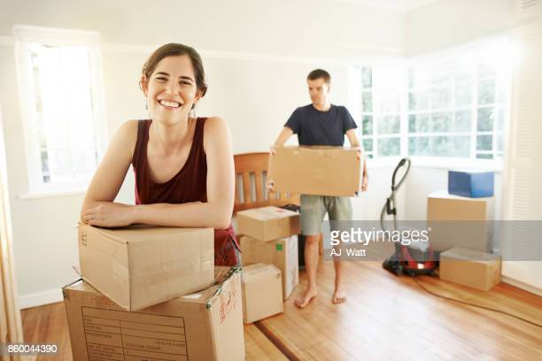 i couldn't be any happier - belongings stock photos and pictures