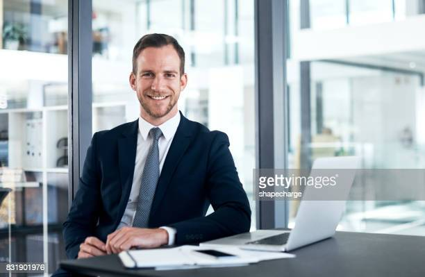 i couldn't have chosen a better career - businessman stock pictures, royalty-free photos & images