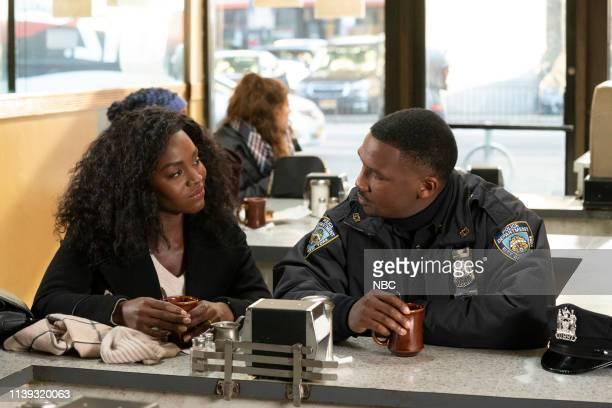 THE VILLAGE Couldn't Not Love You Episode 107 Pictured Deborah Ayorinde as Dana Jerod Haynes as Ben Jones