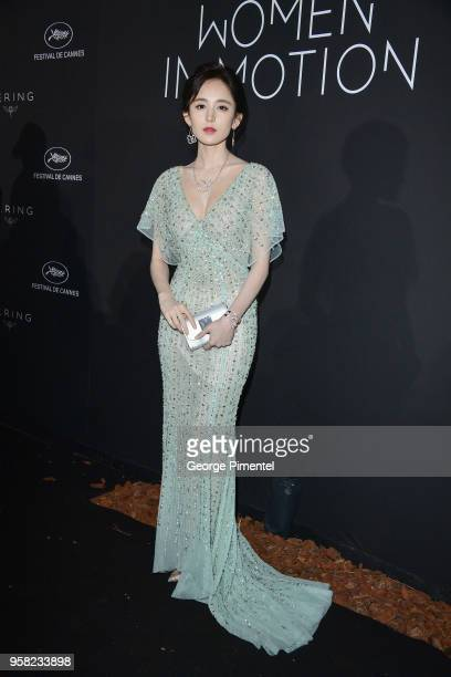 Coulee Nazha attends the Kering Women In Motion dinner during the 71st annual Cannes Film Festival at Place de la Castre on May 13, 2018 in Cannes,...
