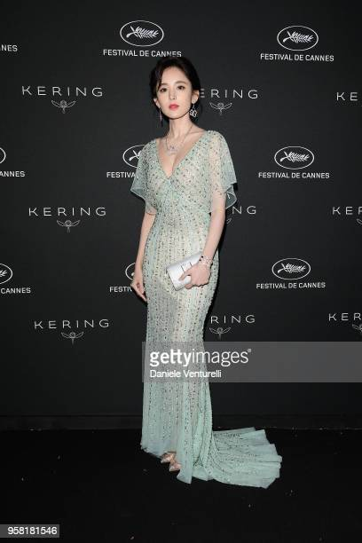 Coulee Nazha attends the Women in Motion Awards Dinner presented by Kering and the 71th Cannes Film Festival at Place de la Castre on May 13 2018 in...
