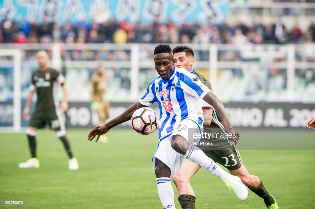 Pescara Calcio v AC Milan - Serie A : Foto di attualità