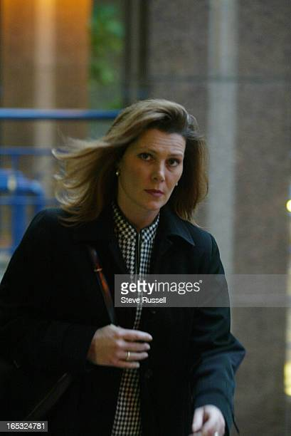 Darlene Coulis is charged with insubordinaton under police act -- she appeared in tribunal today where she pleaded guilty in Toronto, November 02,...