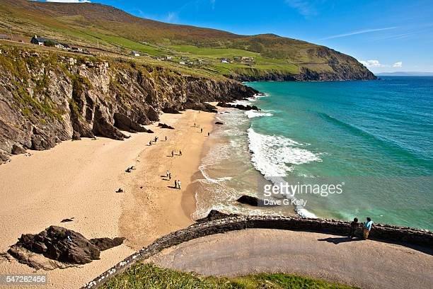 Coumeenole Beach, Slea Head, on the Dingle Peninsula, Co Kerry