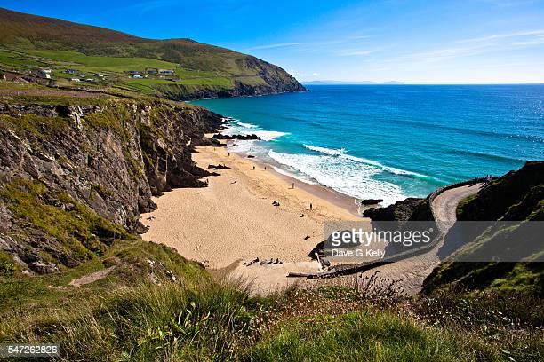 Coumeenole Beach, Slea Head, on the Dingle Peninsula, Co Kerry