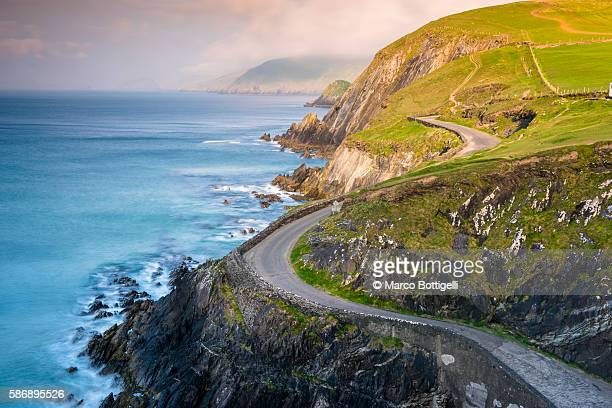 Coumeenoole beach (Slea Head), Dingle peninsula, County Kerry, Munster province, Ireland, Europe.