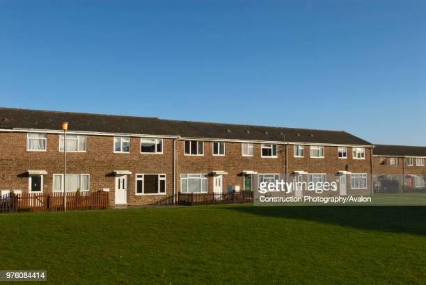 Council housing estate Witham UK