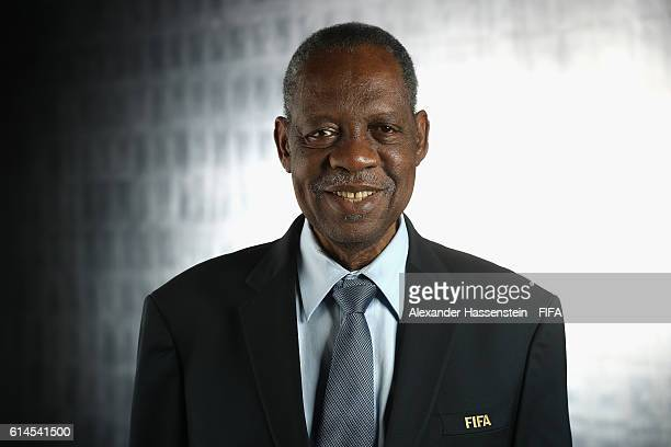 Council member Issa Hayatou poses during a Portrait session at the FIFA headquaters on October 14, 2016 in Zurich, Switzerland.