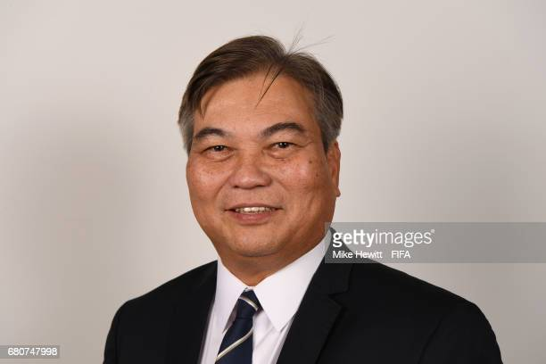 Council member Mariano Araneta poses for a portrait at the Diplomat Radisson Blu ahead of the FIFA Congress on May 9 2017 in Manama Bahrain