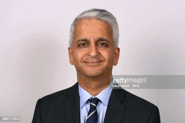 Council member Sunil Gulati poses for a portrait at the Diplomat Radisson Blu ahead of the FIFA Congress on May 9 2017 in Manama Bahrain