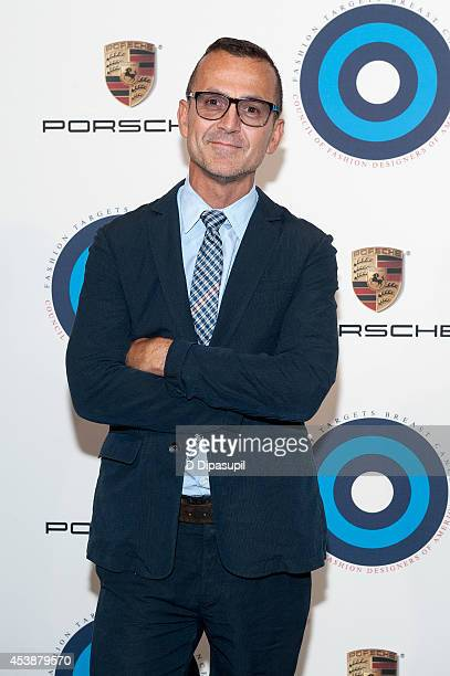 Council of Fashion Designers of America CEO Steven Kolb attends Fashion Targets Breast Cancer at The New Museum on August 20 2014 in New York City