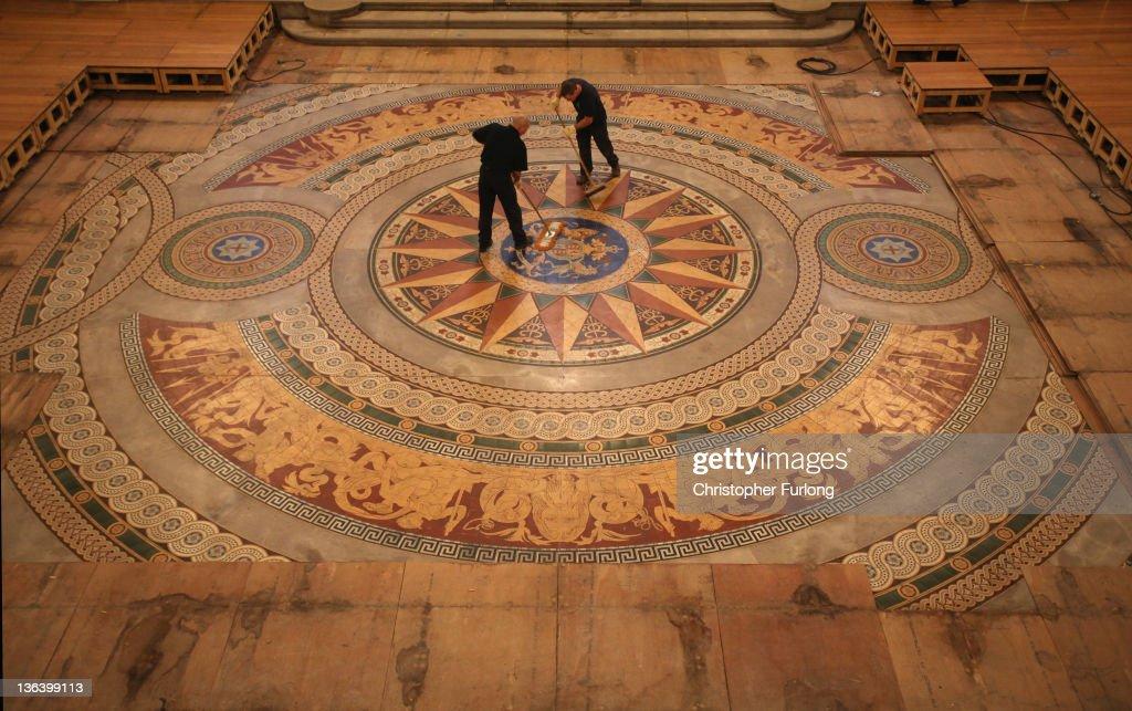Photos Et Images De St Georges Halls Rare Minton Floor Tiles Are