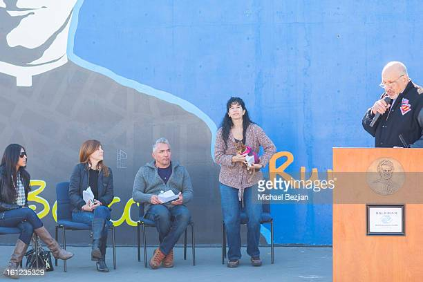 Councilman Dennis Zine attends Cesar Millan and Carrie Ann Inaba team up for National Spay and Neuter Month at Salesian Boys and Girls Club of Los...