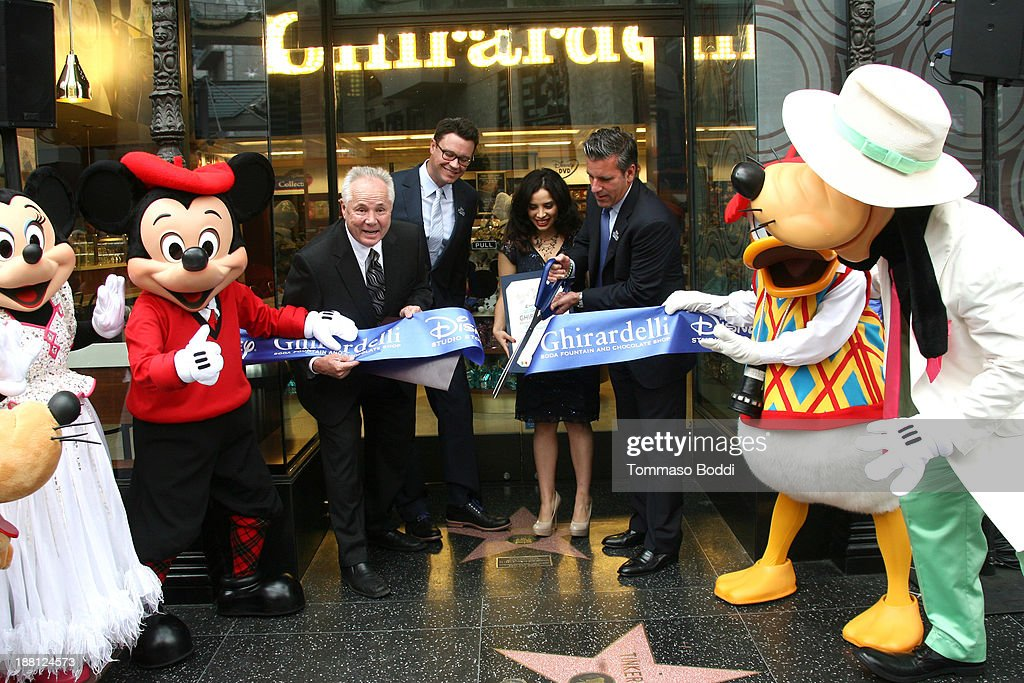 Ribbon Cutting Ceremony Of New Ghirardelli Soda Fountain And Chocolate Shop