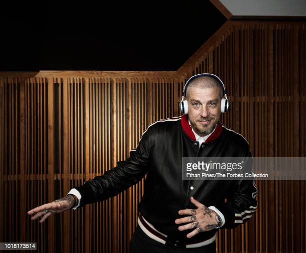 Counder and CEO of Muzik Jason Hardi is photographed for Forbes Magazine on April 11 2018 in West Hollywood California PUBLISHED IMAGE CREDIT MUST...