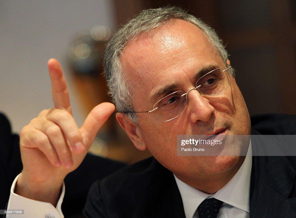 Italian Football Federation Federal Council : News Photo