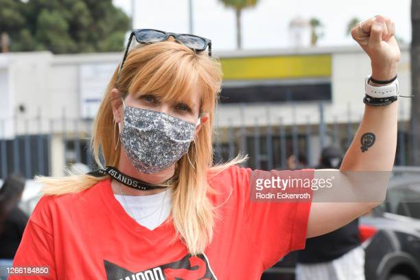 Counselor - Diploma Program Sheila Richman poses for photo at Hollywood High School on August 13, 2020 in Hollywood, California. With over 734,000...