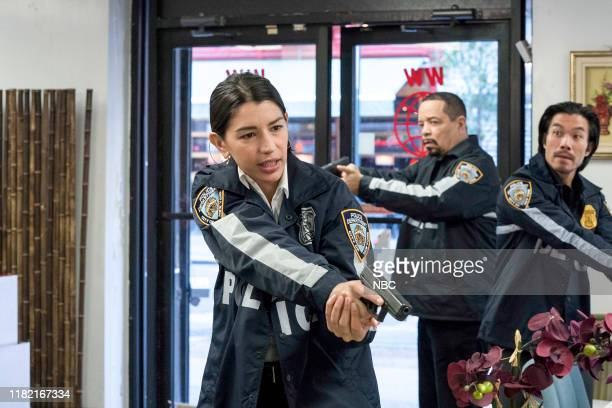 UNIT Counselor It's Chinatown Episode 21007 Pictured Jamie Gray Hyder as Officer Katriona Kat Azar Tamin Ice T as Detective Odafin Fin Tutuola Nelson...