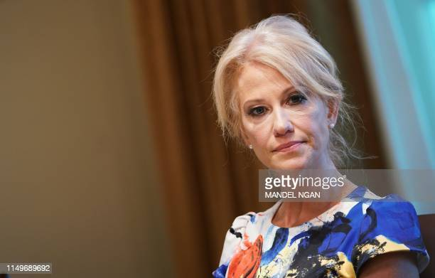 Counselor to the President Kellyanne Conway attends a working lunch with governors on workforce freedom and mobility in the Cabinet Room of the White...