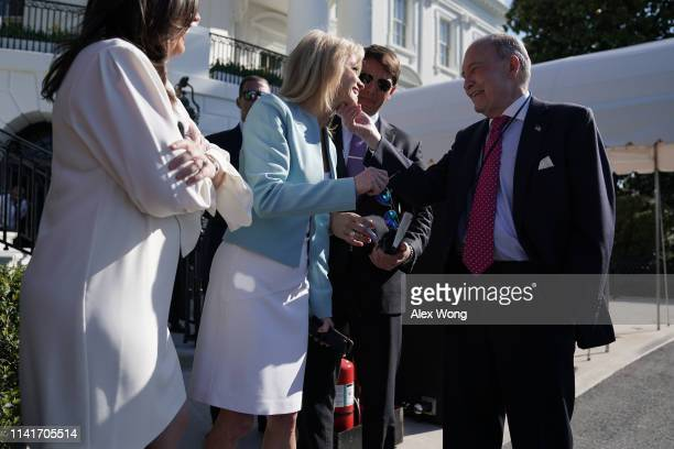 Counselor to the President Kellyanne Conway White House Principal Deputy Press Secretary Hogan Gidley and Director of the National Economic Council...