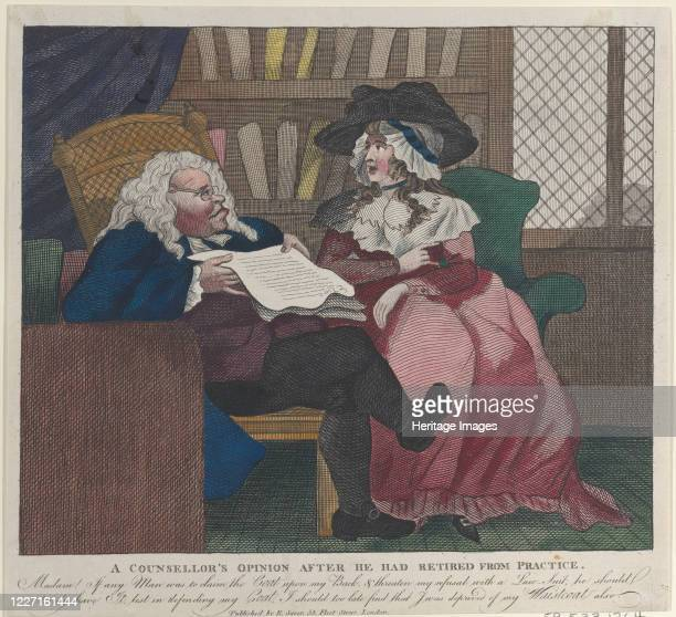 A Counselor's Opinion After He Had Retired From Practice The Legal Consultation 178094 Artist Unknown