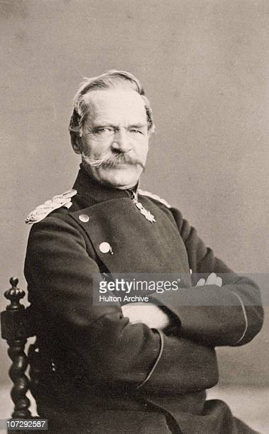 Count Albrecht Theodor Emil von Roon who served as Prussian Minister of War and Prime Minister of Prussia, circa 1870.