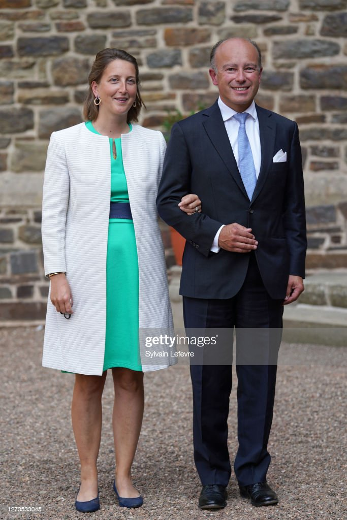 Baptism Of Prince Charles Of Luxembourg At L'Abbaye St Maurice De Clervaux : ニュース写真