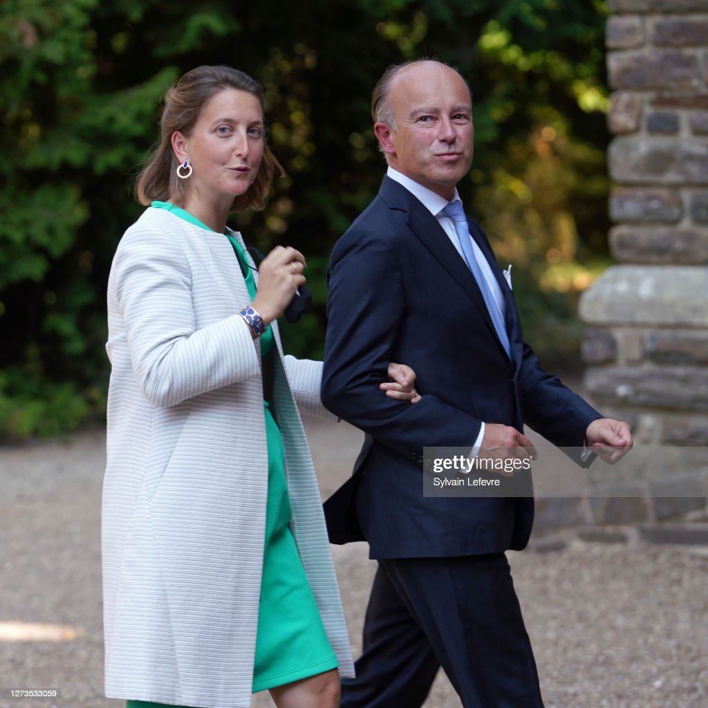 Baptism Of Prince Charles Of Luxembourg At L'Abbaye St Maurice De Clervaux : Nachrichtenfoto