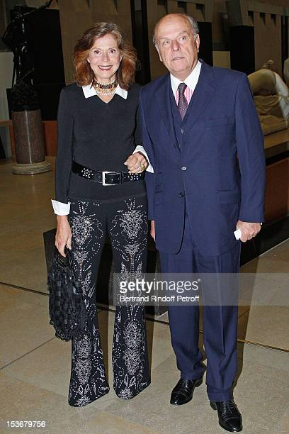 Count and Countess Jean de Rohan Chabot at Musee d'Orsay on October 8 2012 in Paris France