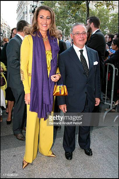 Count and Countess Philippe of Nicolay Premiere of the movie 'Le Deuxieme Souffle' at the UGC Normandie cinema in Paris and dinner at the Four...