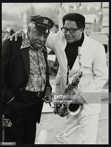 Count Basie and Illinois Jacquet at the Capital Radio Jazz Festival London July 1979 Artist Denis Williams