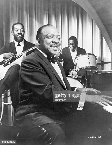 Count Basie appearing in MGM's 1966 movie Made in Paris