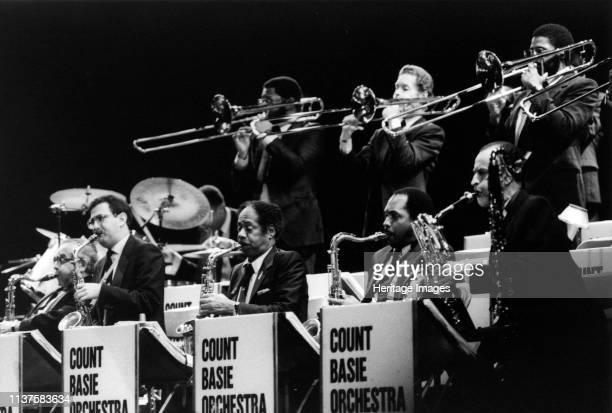 Count Basie Orchestra London 1990 Artist Brian Foskett