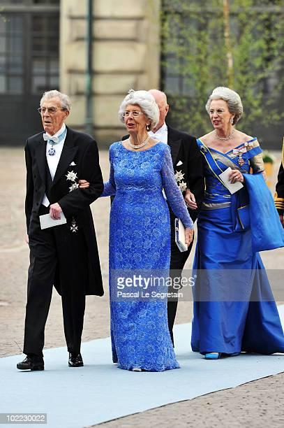 Count CarlJohan Bernadotte af Wisborg and Countess Gunnila Bernadotte af Wisborg Princess Benedikte and Prince Richard zu SaynWittgensteinBerleburg...
