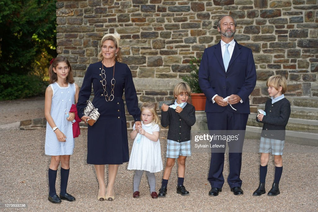 Baptism Of Prince Charles Of Luxembourg At L'Abbaye St Maurice De Clervaux : Foto jornalística