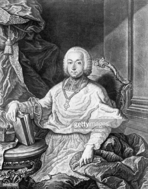 Count Christoph Anton Migazzi , about 1760. [Graf Christoph Anton Migazzi Um 1760]