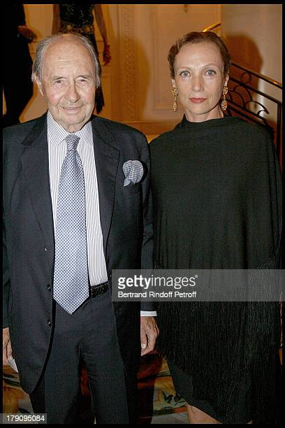 Count Edouard De Ribes and Princess Philomene D'Aremberg at 'L'Affaire Farewell' Film Premiere And Charity Dinner To Benefit The Claude Pompidou...