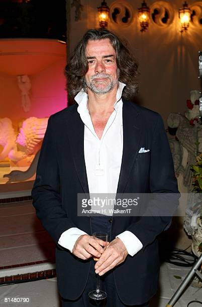 Count Gelasio Gaetan attends the Drinks Dinner and Disco Party the night before the wedding of Ivana Trump and Rossano Rubicondi at the MaraLago Club...