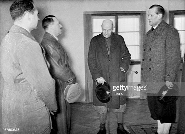 Count Henri de BailletLatour was 19251942 President of the International Olympic Committee Here he is seen at the opening of the Olympic Winter Games...