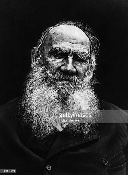 Count Leo Nikolayevich Tolstoy Russian writer, philosopher, moralist and mystic.