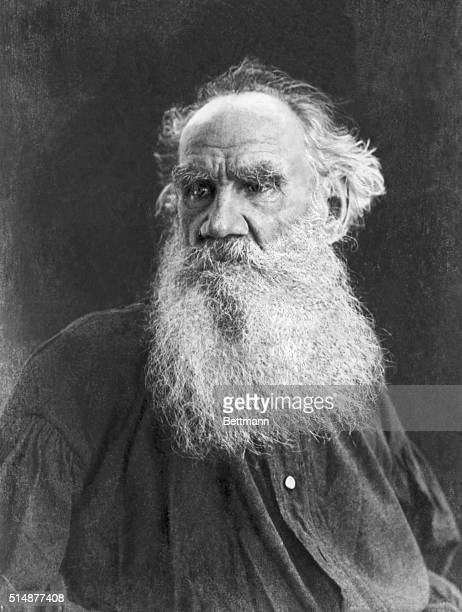 Count Leo Tolstoi Russian novelist and social and moral philosopher. Undated photograph.